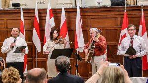 Паэтычна-музычная кампазіцыя на вершы Юрася Шамецькі і Пётры Мурзёнка